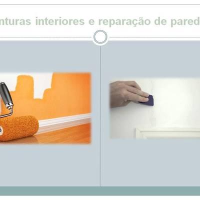 Pinturas Interiores e reparação de paredes