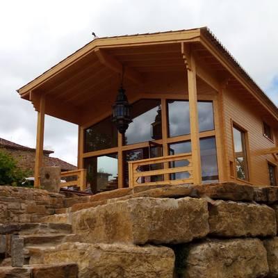 Construção Casa de Madeira