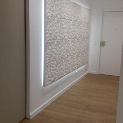 Iluminação e Gesso Decorativo