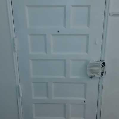 Restauração de porta