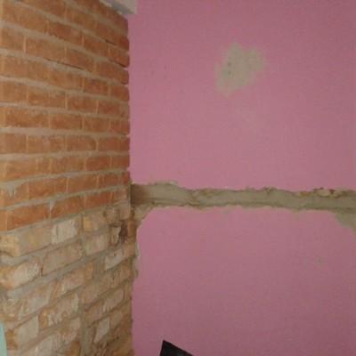 Alvenaria paredes interna