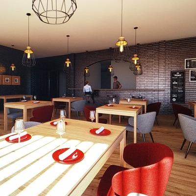 Sala refeições hotel I