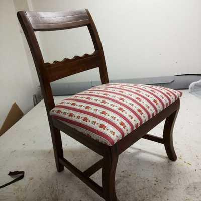 Estofamento cadeira