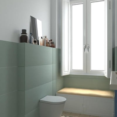 Visualização 3D para a WC