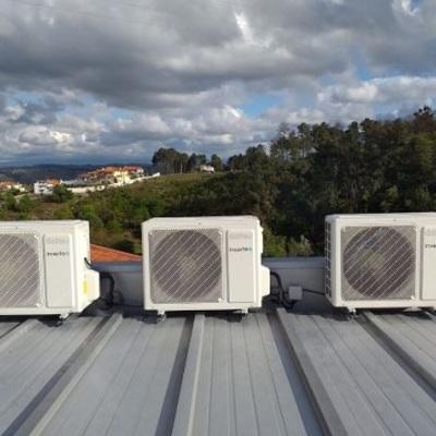 Instalação de Ar Condicionado (exterior)