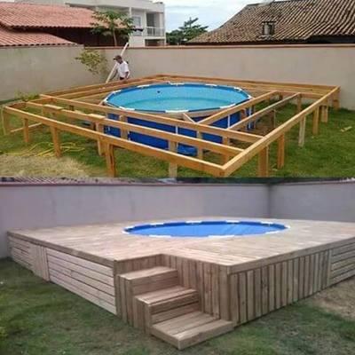 Construção Piscina