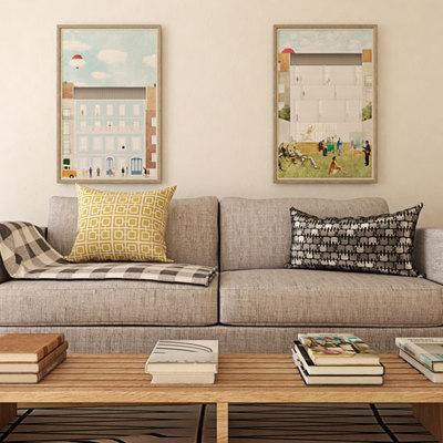 Remodelação e Decoração de apartamento em Carnaxide