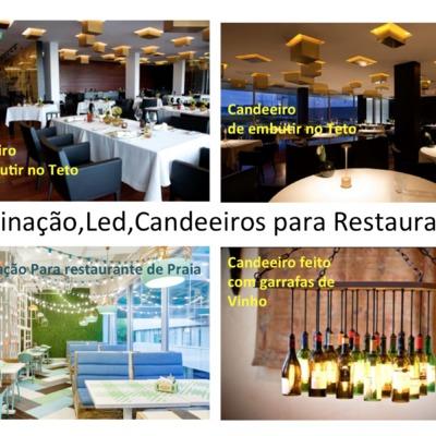 Iluminação de restaurantes