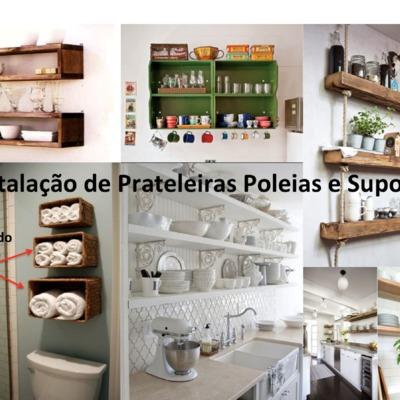Instalação de Prateleiras e Poleias