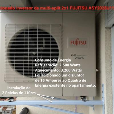Instalação e reparação de ar-condicionados