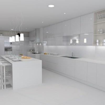 Cozinha reforma geral e projeto decoração e distribuição de espaço