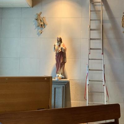 Iluminação decorativa igreja