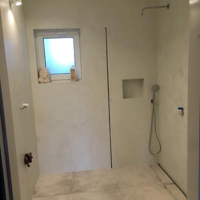Casa de banho em Microcimento