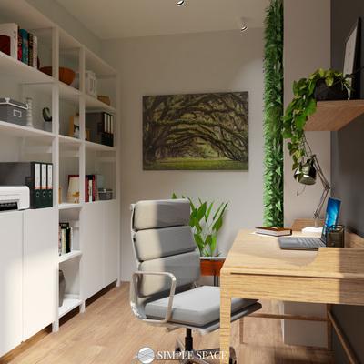 Projeto de Escritório em Habitação