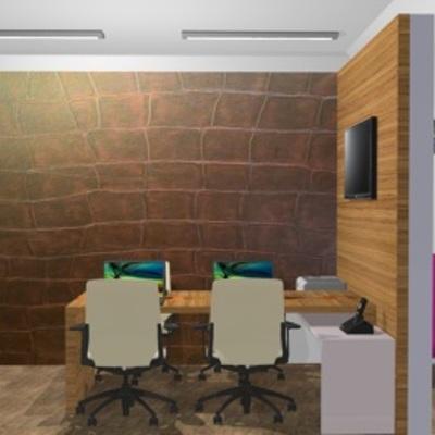 Sala Comercial - Área de trabalho