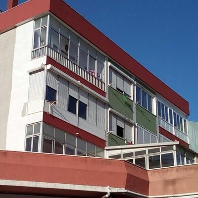 Pintura e impermeabilização de edifício