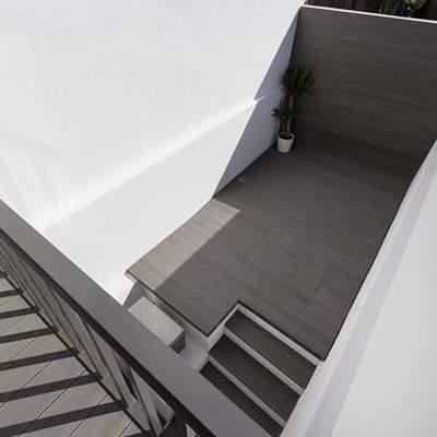 Terraços em Deck