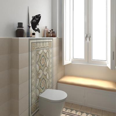 Proposta para remodelação da WC no apartamento em Lisboa