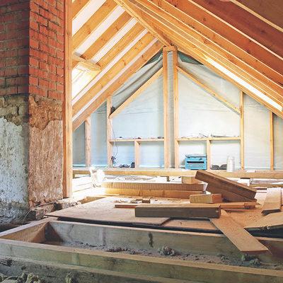 Telhado em madeira