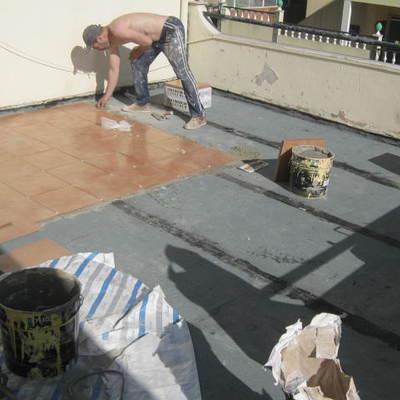 Colocação de azulejo