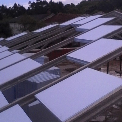 isolamento no telhado