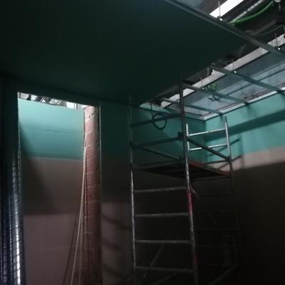 Remodelação pequeno refeitorio