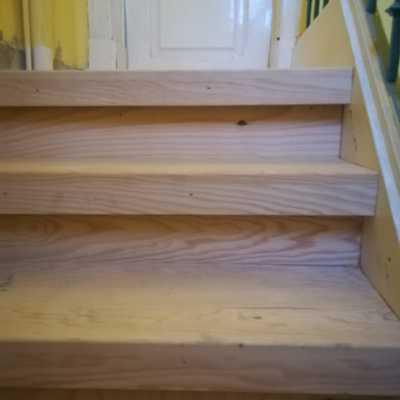 Escadaria o depois