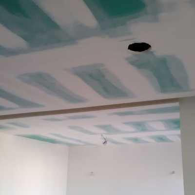 Rebaixamento do teto da sala