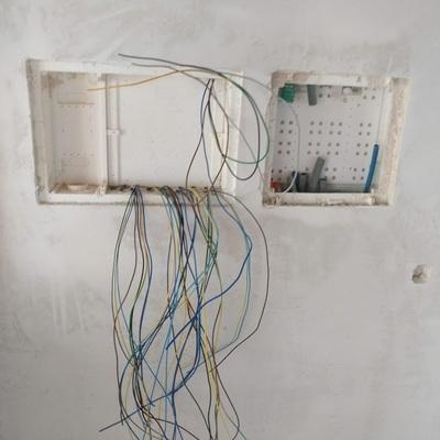 Preparação do quadro Electrico e ITED