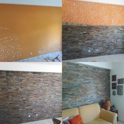 Revestimento cerâmico em parede
