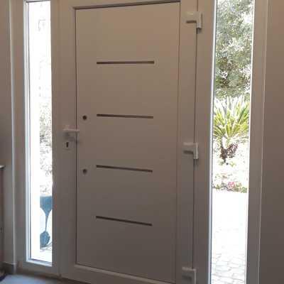 Porta Schuco com 2 fixos (interior)