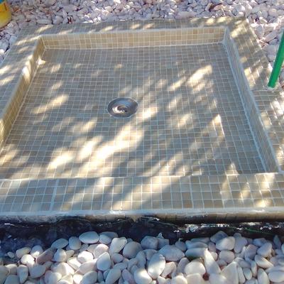 Base chuveiro para piscina
