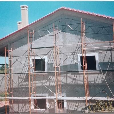 Fase de construção em tosco