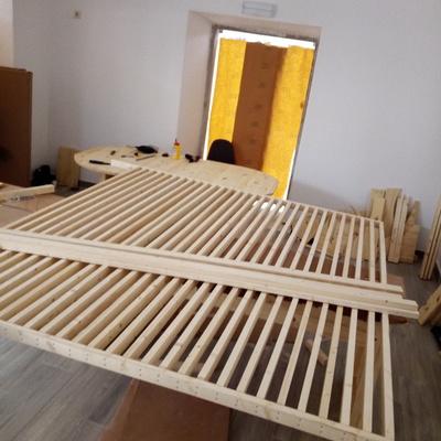 Painel em madeira para sala de reunioes