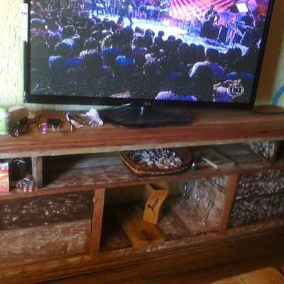 consola Tv madeira Demoliçao