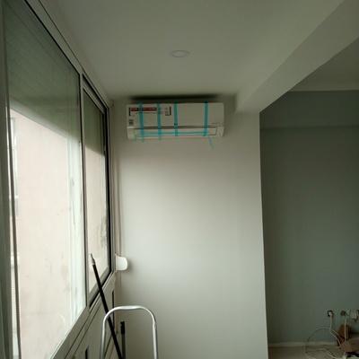 Ar condicionado e tetos falsos
