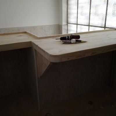 mesa para recpeçao