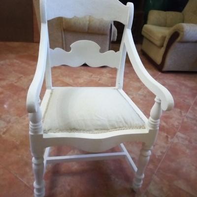 cadeira transformada