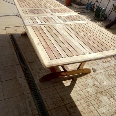 mesa a ser pintada