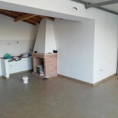 Pintura de cozinha e garagem