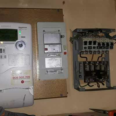 Substituição quadro elétrico