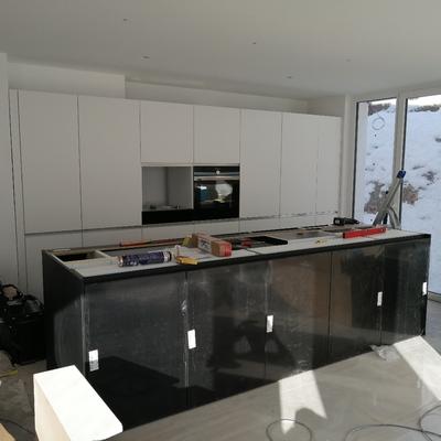 Montagem de cozinha