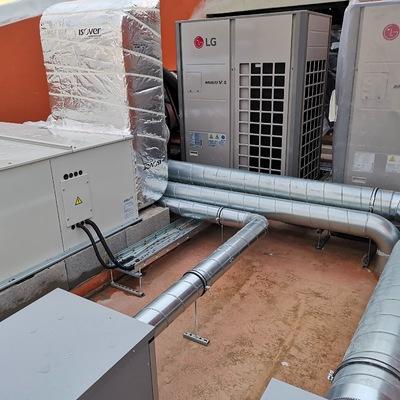 Execução de ar condicionado em hotel Lisboa
