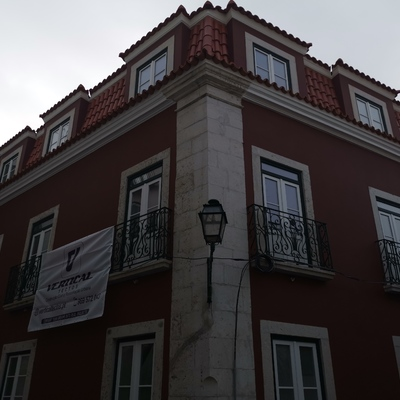 Reabelitaçao e alterações de interior e exterior para hotel em Lisboa