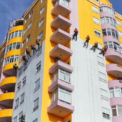 Pinturas de edifícios