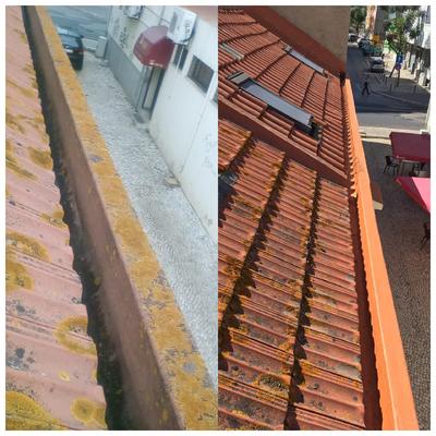 Reestruturação de telhado