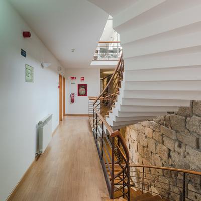 Hotel Santos, Guarda - escadaria