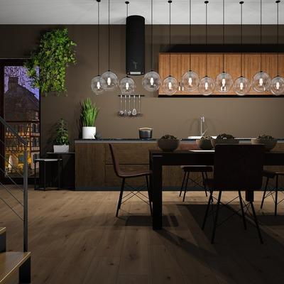 Cozinha minimalista