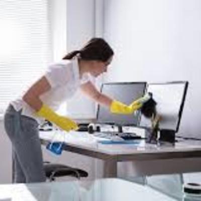 Limpeza de escritório