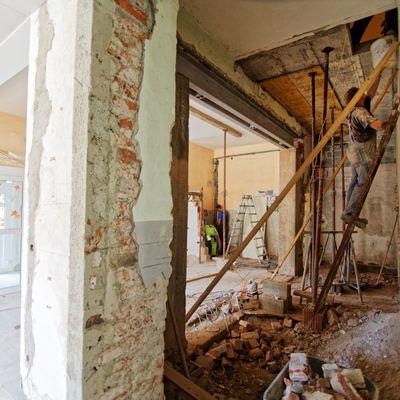 Renovação total de casa antiga